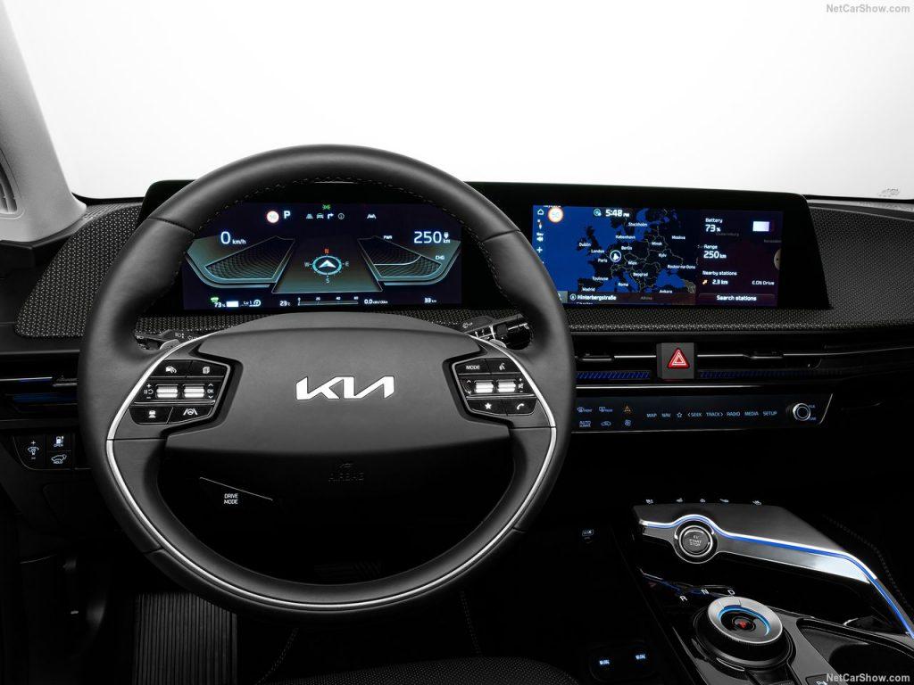 Kia EV6 leasen interieur